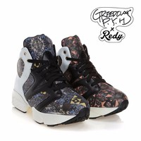 [GREEDILOUS X REDY] honeycomb sneakers - 2color