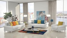 Ikon White Sofa Set
