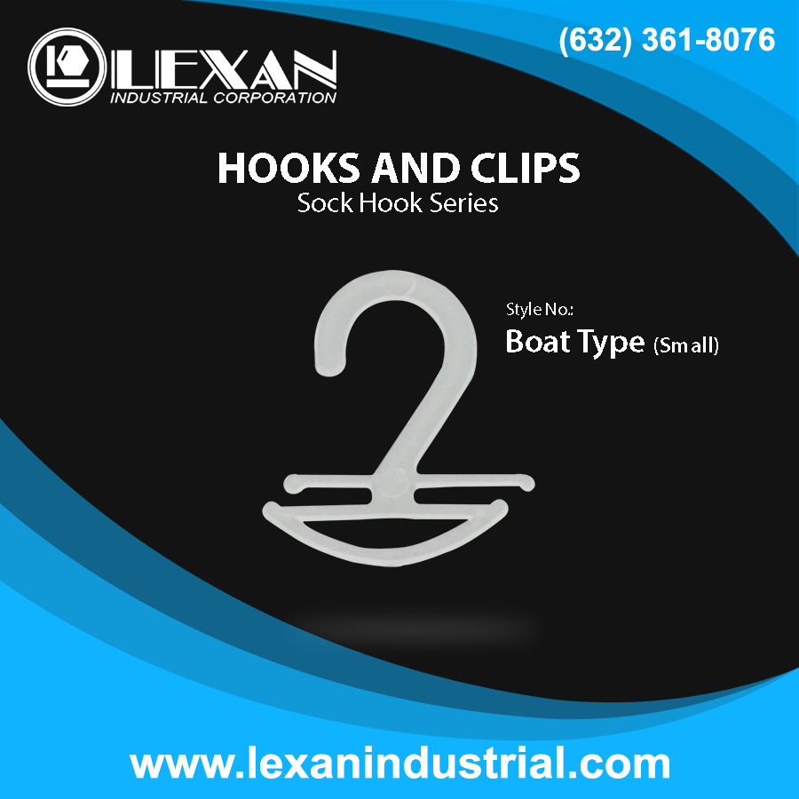 Sock Hook Boat (Small) - Plastic Sock Hook - Boat Type Small (Philippines)