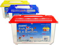 FISH TANK 21.5X14X15CM ASST CL OLD NO 10956, #12758