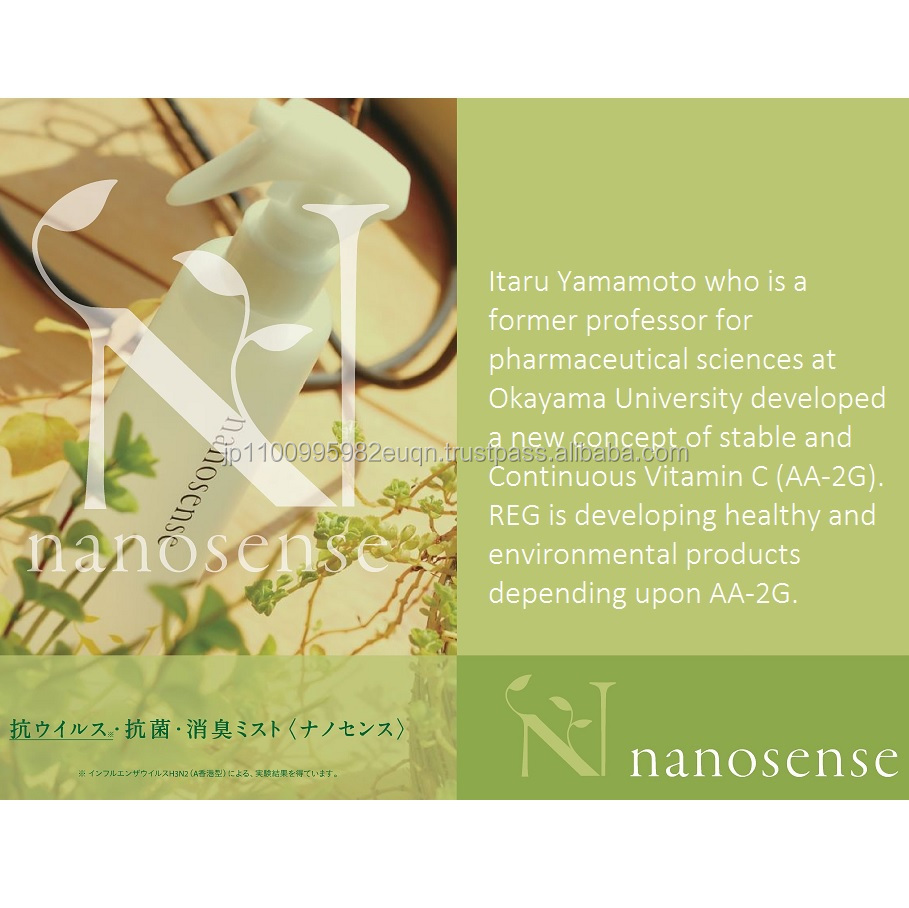 Natural and Unique car perfume nanosense with multiple effects made in Japan