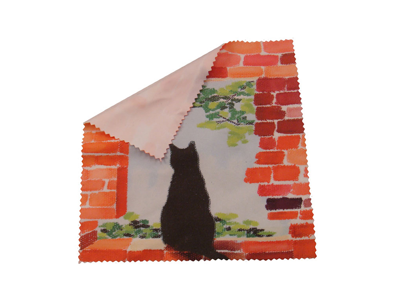 Lovely Cat Lens Microfiber Cloth