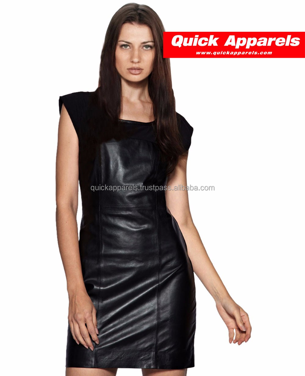 Women Party Dresses Synthetic Leather Suede Long Sleeve Sexy Club Winter Dress Bodycon