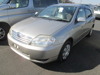 EXPORT FROM JAPAN USED VEHICLES FOR SALE FOR TOYOTA COROLLA 4D X LTD NZE121 AT 2003 IN GOOD CONDITION