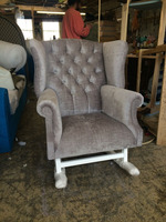 Rocking Chair/ Nursing Chair/ Wing Chair For Sale
