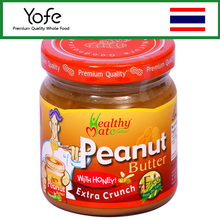 Healthy trend Unsalted Peanut Butter from Thailand Healthiest Brand