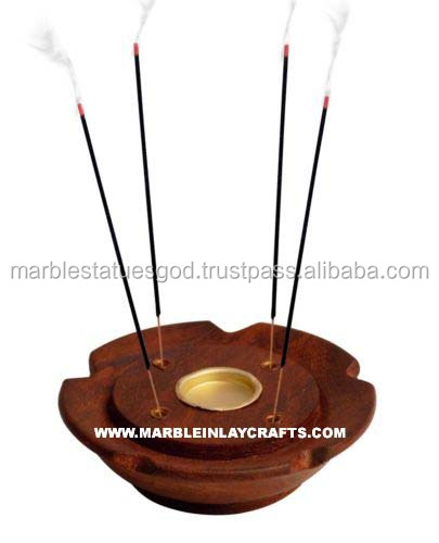 Wooden Incense Stick Burner