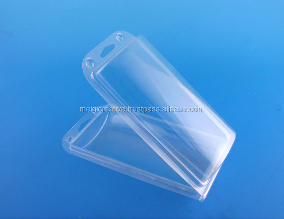 Clear PVC Thermoformed Hanging Clamshell with Insert Card