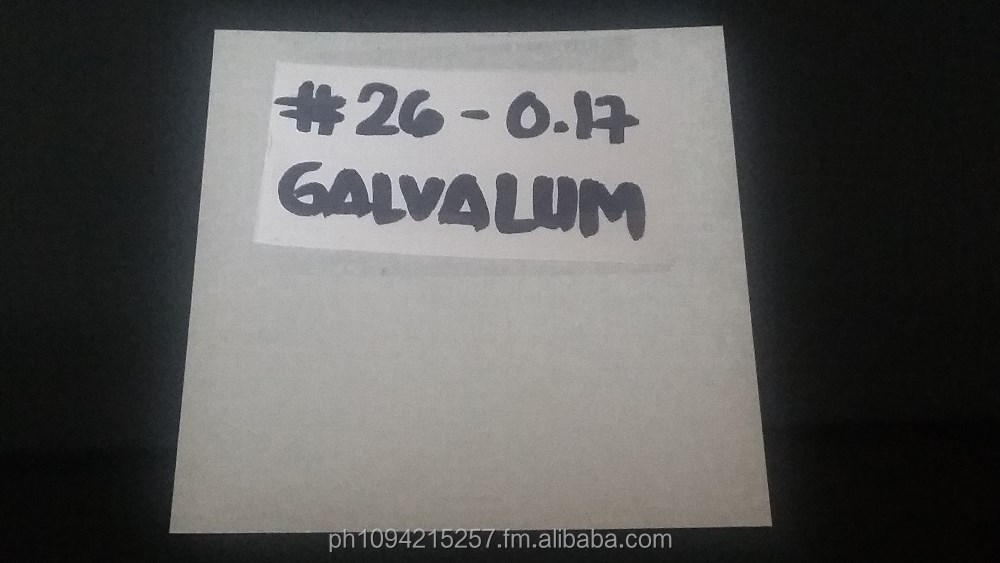 Galvalume Sheets (Galvanized Aluminum Sheets)