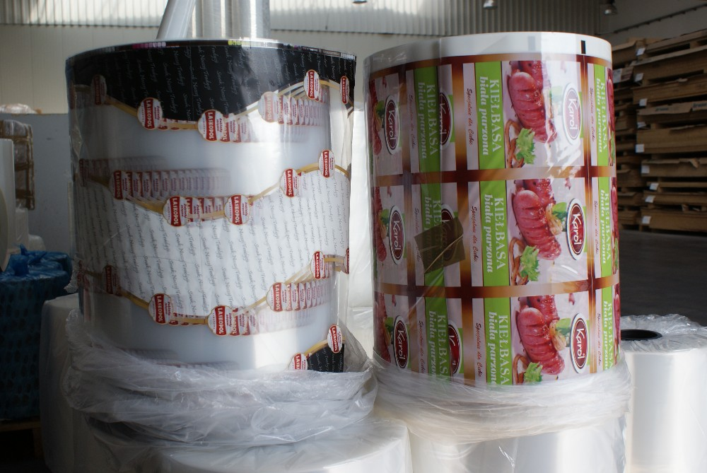 Plastic Pa/PE BOPA/PE PET/PE laminated, printed, flexible packaging film
