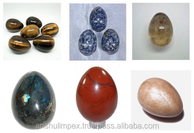 Natural Labradorite Eggs for Metaphysical Healing and Decorations Purpose