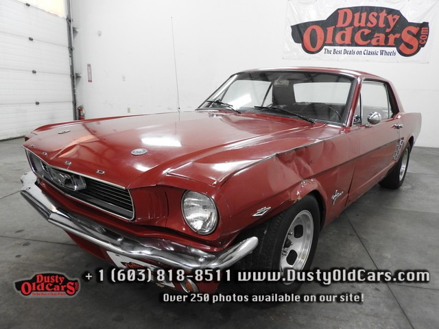 1966 Ford Mustang Runs Drives Body Interior Vgood 289V8 4spd - See more at: www.dustyoldcars.com