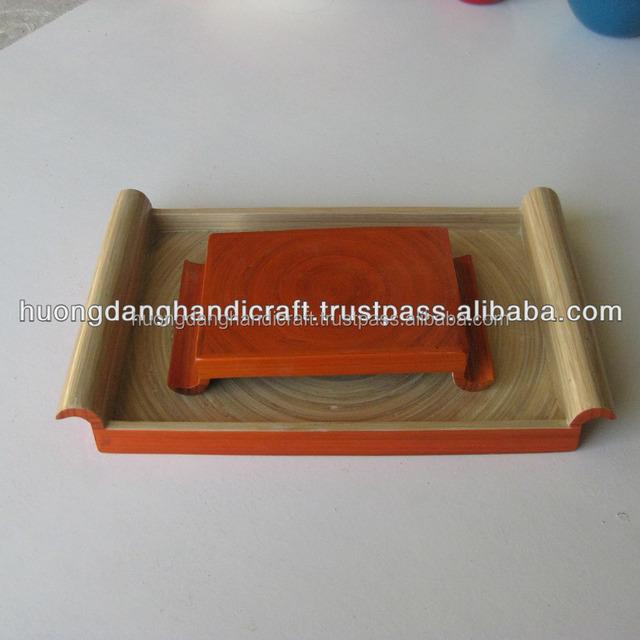 wholesale cheap bamboo tray, bamboo tea tray, bamboo breakfast tray