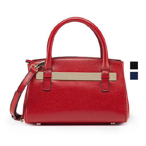 Guy Laroche 2015 Fashion Hobo Bag red, blue and black Genuine Leather