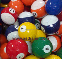 16 balls snookball pool soccer balls Billiard Footballs new game