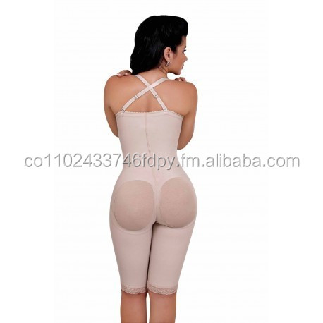 Strapless girdle buttocks lifter covered holes