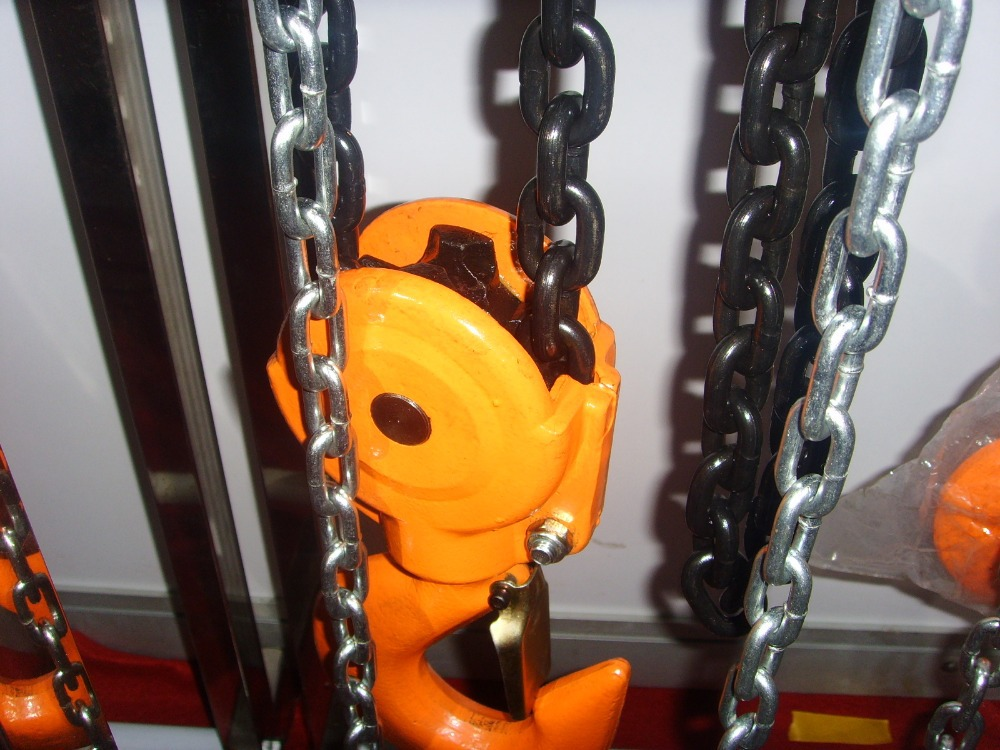 1.5 ton HSZ Series Manual Chain Pulley Block /1.5 ton chain block