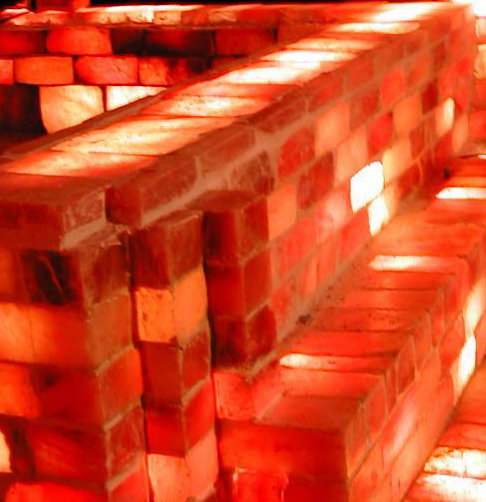 Himalayan Rock Salt Tiles and Bricks