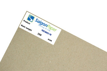 Standard Medium Paper for carton box's middle layer made in Vietnam