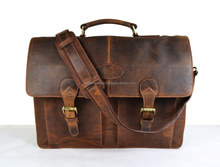 Leather Briefcase/ Office Bag