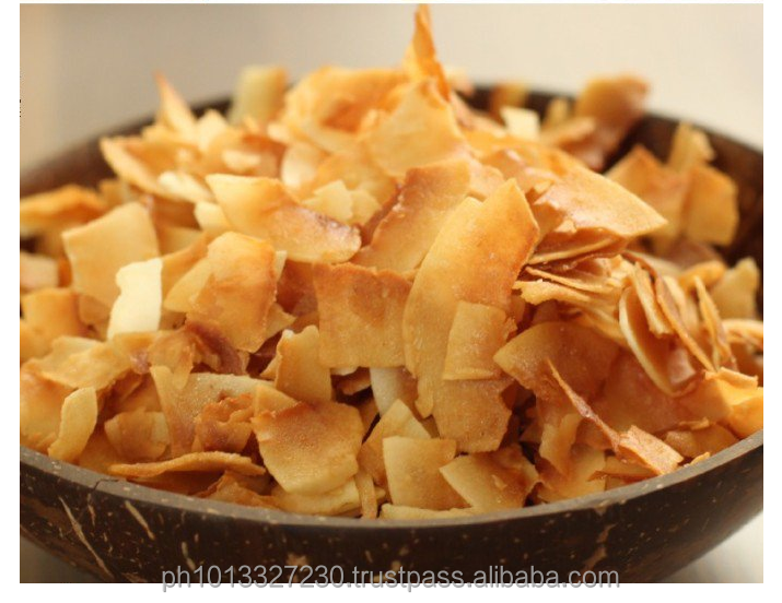 COCONUT CRISPY CHIPS - 100% Natural & Available in Plain, with Coconut Nectar OR with Sea Salt