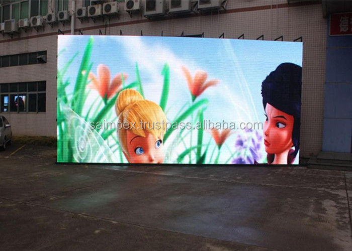 high definition HD p8 led video display screen panel for outdoor advertising