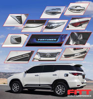 Chrome molding set for TOYOTA ALL NEW FORTUNER 2016