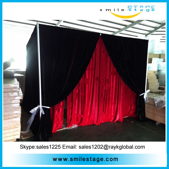 photo booth show display pipe and drape kits