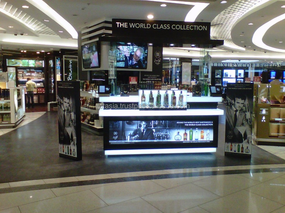 SEDEX perfume and cosmetic display counter