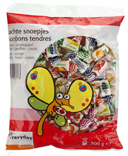 EVERYDAY soft fruit-flavoured candy 500g