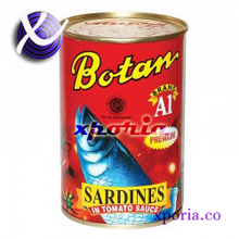 BOTAN Canned Fish SARDINES 425gr | Indonesia Origin | Popular cheap halal certified meat