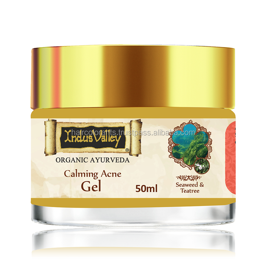Indus Valley Seaweed Teatree Calming Acne Gel