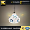 Mosaic Glass Hanging , Decoration Glass Hanging , Color Glass Hanging , Metal Fitting Hanging , Light & Lighting Glass Hanging ,