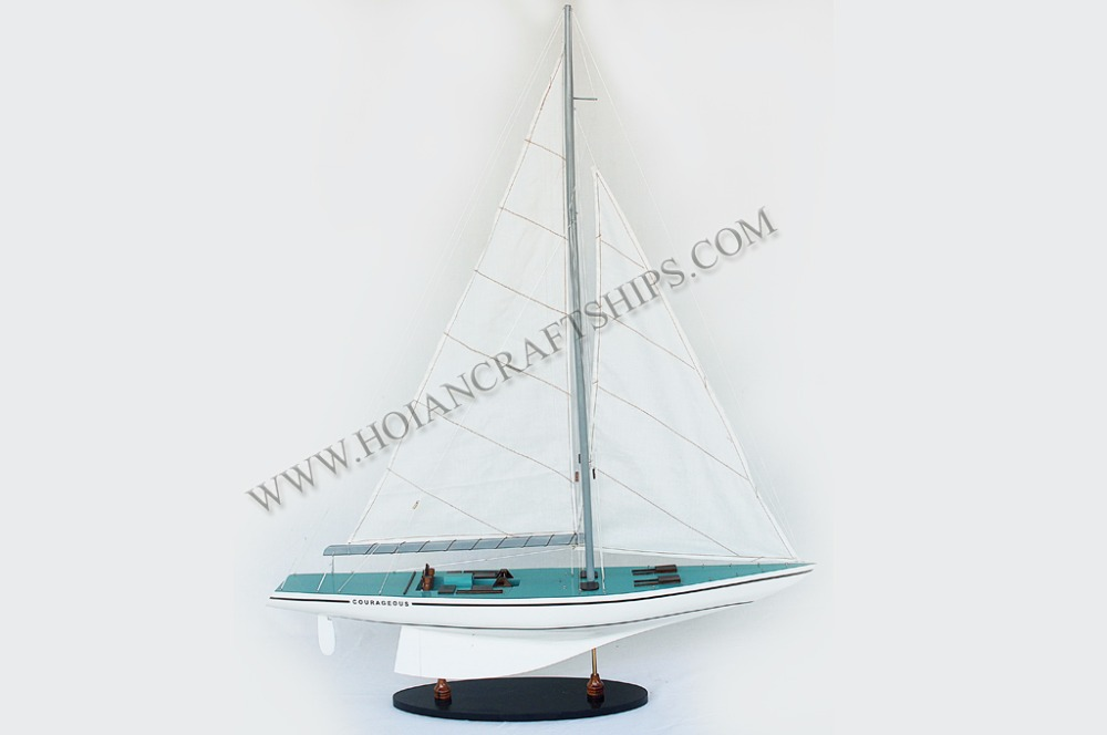 COURAGEOUS YACHT, WOOD CRAFT OF VIETNAM - WOODEN HANDICRAFTS