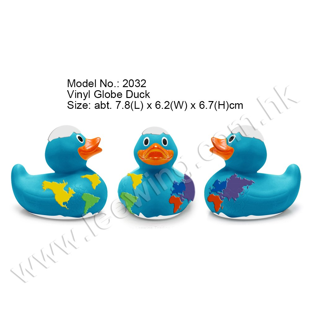 Rubber Duck Planet Earth