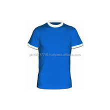 Blue and white 100%cotton New designer o-neck short sleeve printed casual men cotton slim fit longline tshirt