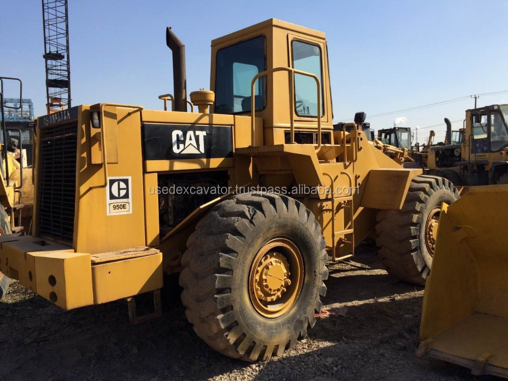 USA made used CAT Caterpillar 950 wheel loader 950E, loader for sale