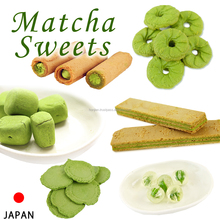 Various types of additive-free matcha sweets imported biscuits cookies with no artificial coloring