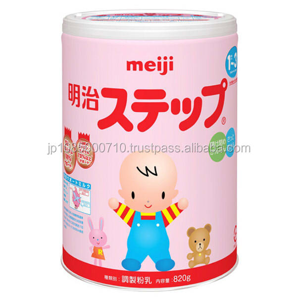 Original Japanese baby milk powder brands with nutritional ingredients