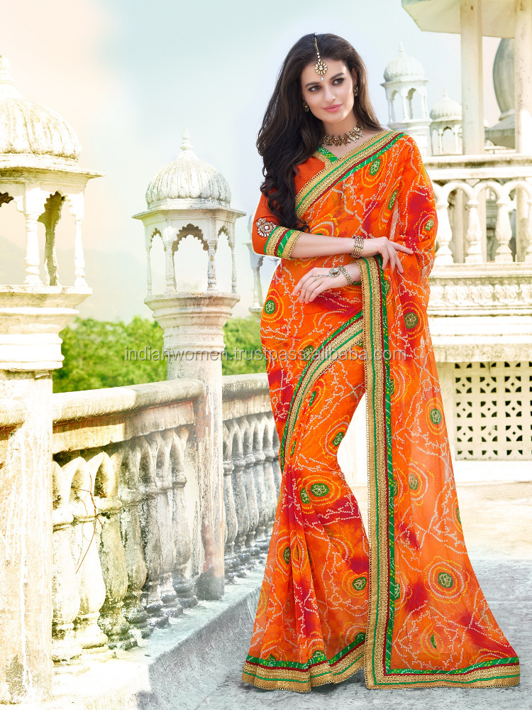 Pure Bandhani Pattern by Indian Women By Bahubali