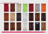 PVC Membrane MDF Kitchen Cabinet Door