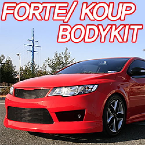 [T.SHINE] KIA Forte Koup / Cerato Koup - Body Kit (no.1839)