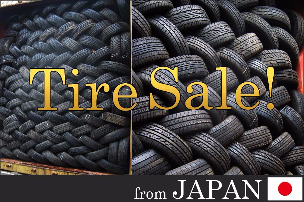 Big supply Bridgestone Yokohama Toyo Michelin Pirelli Dunlop used tire, used tyre from Japan