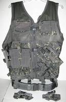 NEW! NCSTAR CAMOUFLAGE TACTICAL MENS VEST Camo Hunting Duty Weapons