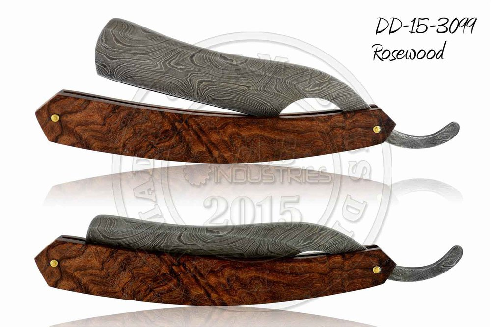 Damascus Steel Straight Razor DD-15-3099
