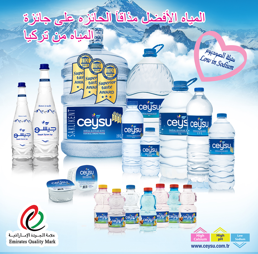 Bottled Spring Water for Gulf Area