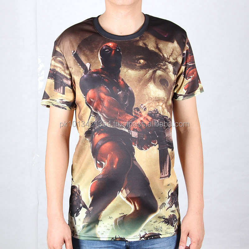 Sublimated new design t shirt for men