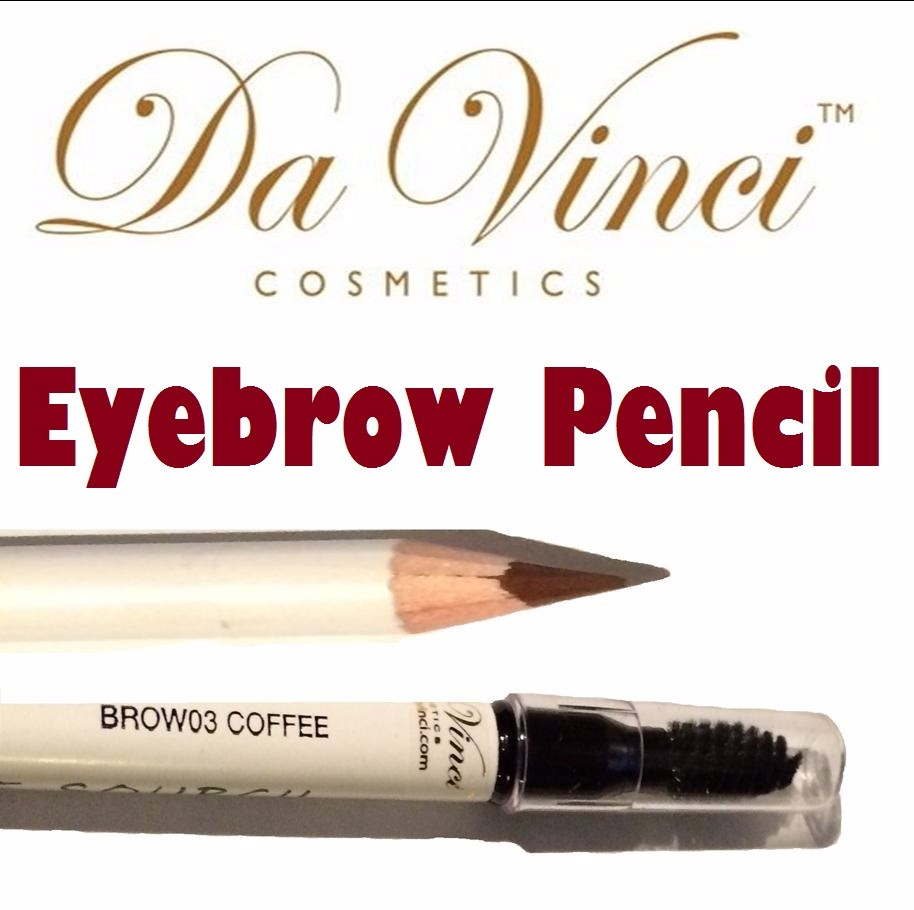 Natural Mineral Eyebrow Pencil - Da Vinci Cosmetics 5 colors - Chemical Free Makeup