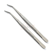 London College Tweezer Serrated Tip Surgical Cotton & Dressing Forceps / cotton swab forceps /Surgical instruments