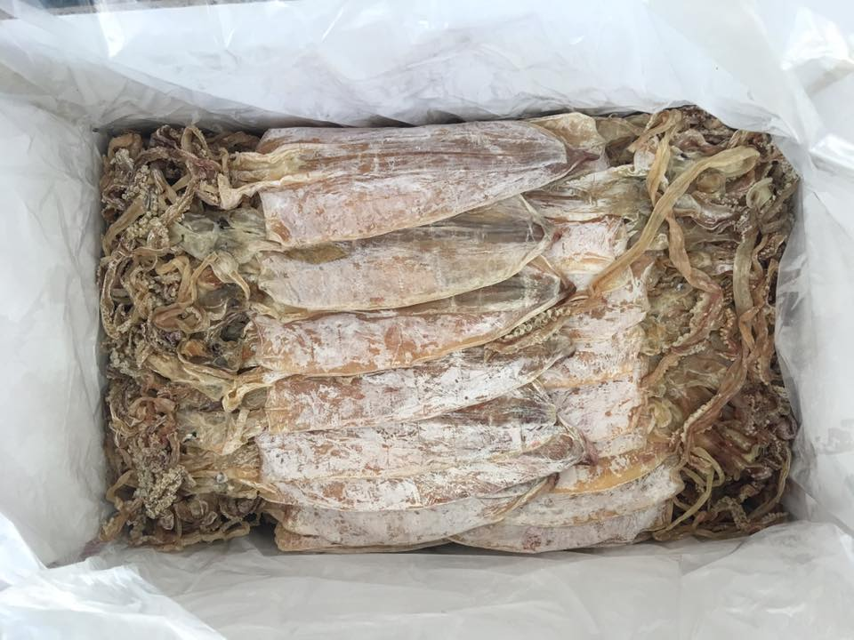 Dried Squid - Vietnam Seafood high quality